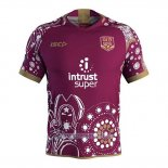 Maillot Queensland Maroons Rugby 2018-2019 Conmemorative
