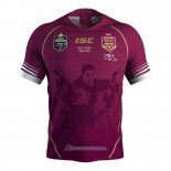 Maillot Queensland Maroons 1 Rugby 2019 Conmemorative
