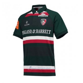 Maillot Leicester Tigers Rugby 2017-18 Domicile