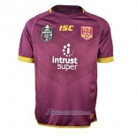 Maillot Queensland Maroons Rugby 2018 Marron