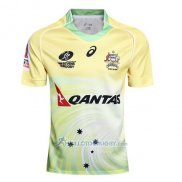 Maillot Australie Rugby 2017 Domicile