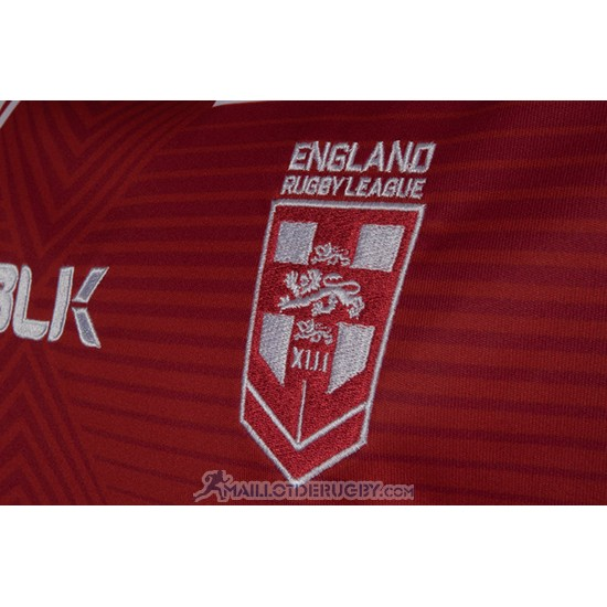 Maillot Angleterre Rugby RLWC 2017 Domicile