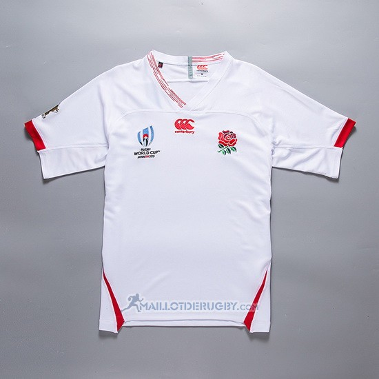 Maillot Angleterre Rugby RWC 2019 Blanc